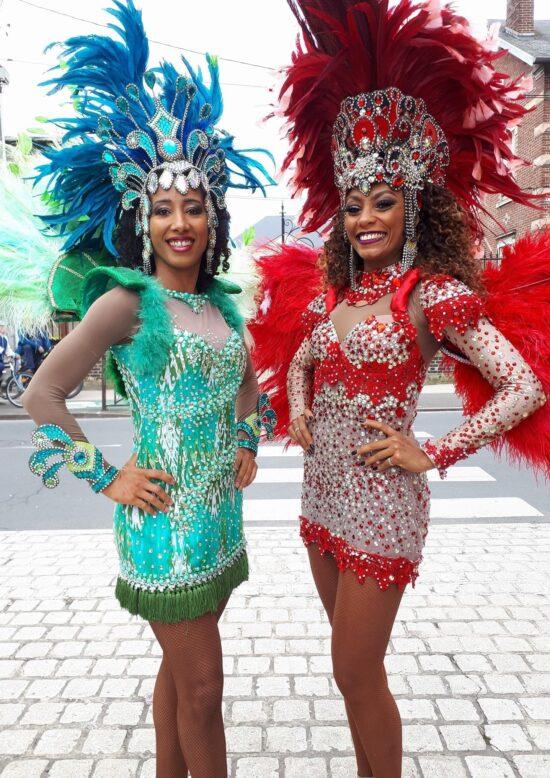 danseuses brésiliennes wim percussion