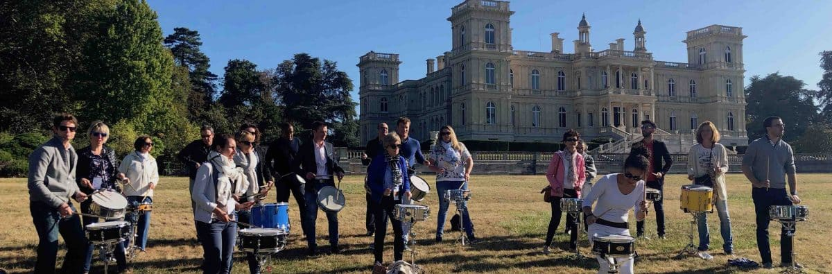 team building castel percussions