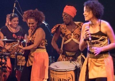 Zalinde abami concert brésilien wim percussion
