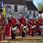 Tambours français fête médiévale wim percussion