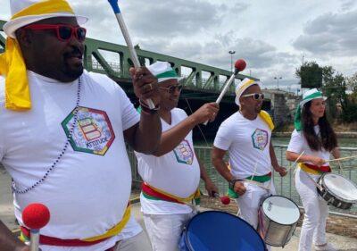 wim batucada Musicians Brazilian street animation wim percussion