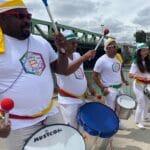 wim batucada musiciens bresiliens fete ville wim percussion